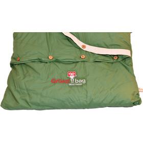 Grüezi-Bag Biopod DownWool Nature Comfort Saco de Dormir, basil green
